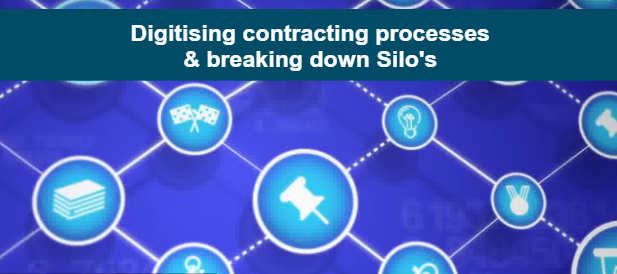 Digitising contracting processes & breaking down silo's